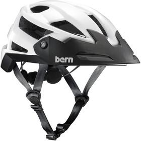 Bern FL-1 TRAIL Helmet with Visor Gloss White